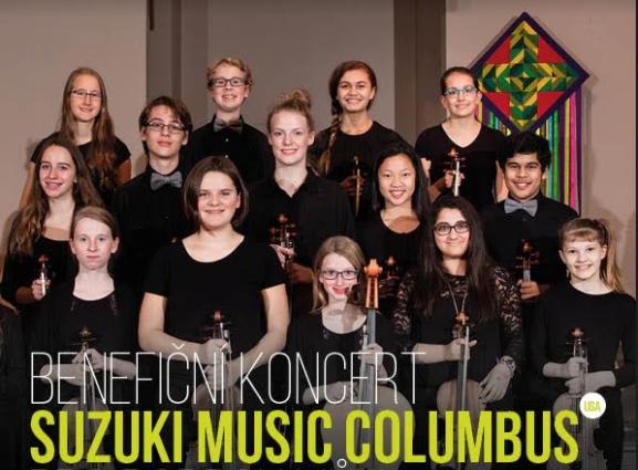 Benefiční koncert Suzuki Music Columbus pro Dobrou vůli, 27. 3. od 18:30