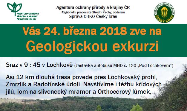 Geologická exkurze, 24. 3. od 9:45